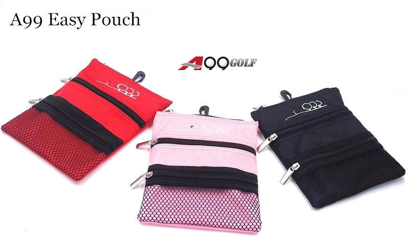 A99 Golf 3-Pocket Easy Pouch Accessories Drawstring Pouch Tote Bag