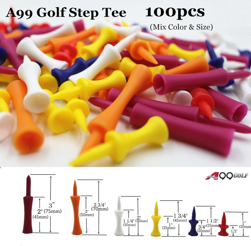 A99 Golf Step Tee 100 pcs