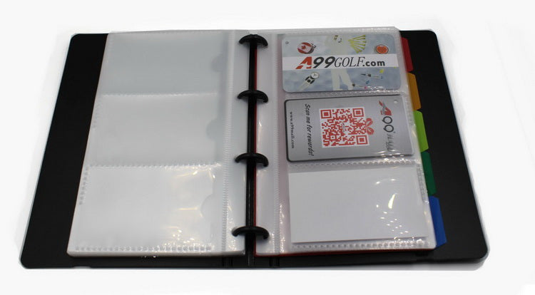 A99 Business Card Holder I 180 Business Name Card Holder Book Hard Cover