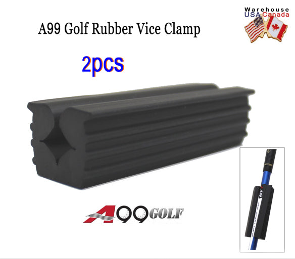 A99 Golf Rubber Vice Clamp  2pcs