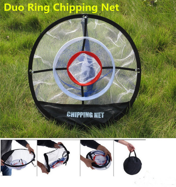 "A99 Golf Duo Ring Chipping Net II 20"" Portable"