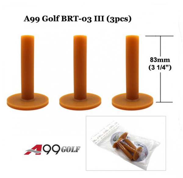 A99 Golf BRT-03 III  Rubber Tee (3pcs)