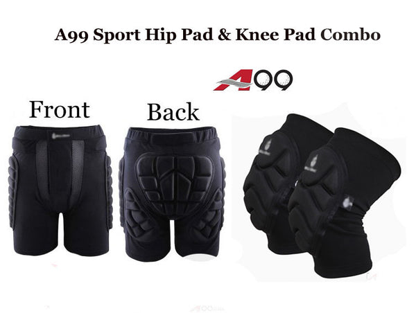 A99 Sport Hip Pad & Knee Pad Combo
