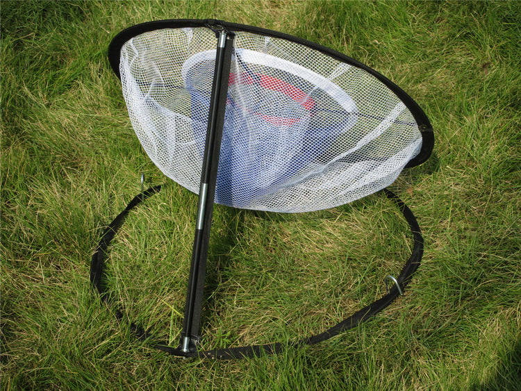 "A99 Golf Duo Ring Pop up Chipping Net II w Carry Bag for Indoor Outdoor Practice Backyard Golf Net Chipping Target for Improving Short Game 20"" Portable"