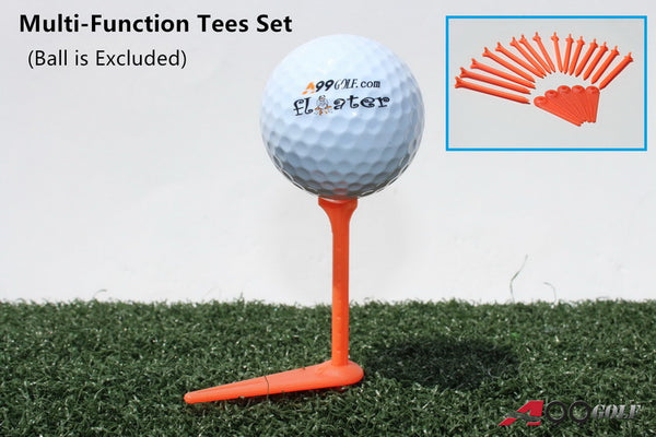A99 Golf Multi-Function Tees Set - No Friction, Direction, Restriction Tee