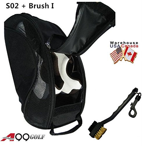 A99 Golf S02 Shoe Bag + Golf Brush I