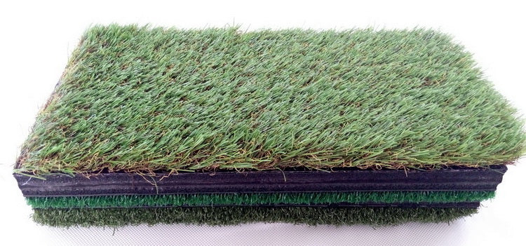 A99Golf Tri-Mat 3-Fold Golf Hitting Grass Mat Realistic Fairway & Rough Portable Driving Chipping Training Aids Backyard Indoor Practice