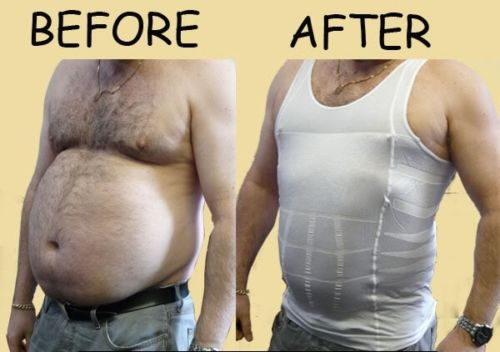 Men Body Slimming Vest