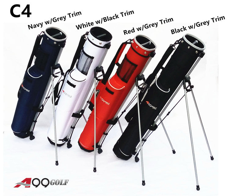 A99Golf C4 Range Sunday Pencil Carry Bag Removable Top Cover w. stand