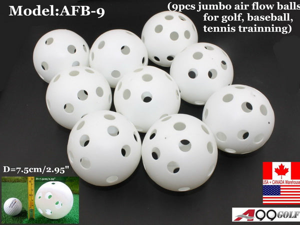 A99 JABF-9 Air Flow white Training Balls Baseball Softball