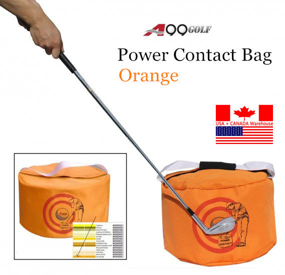 A99 Golf Power Impact Bag Orange
