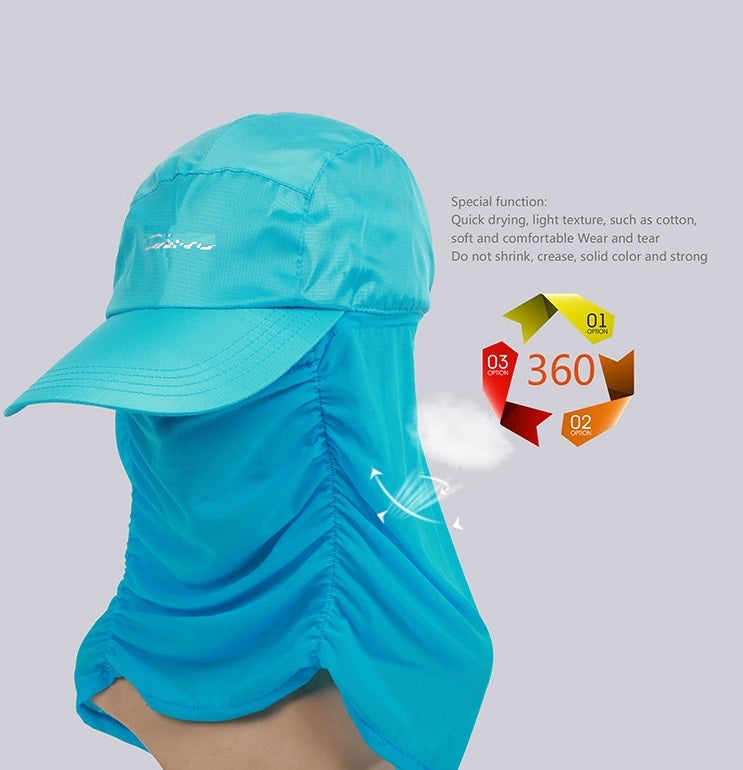 SP360 Sun Hat Coolmax sun-proof 360 degrees Cap Quick Drying
