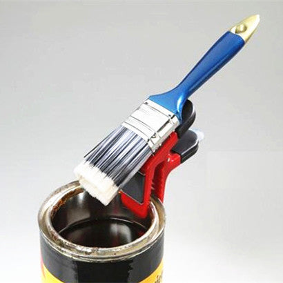 3pcs/pack Magnetic Paint Brush holder clip with Tin Opener Painiters DIY Tools