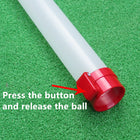 A99 Golf Clear ABS Ball Pick up Tube II Plastic + 22pcs Random Air Flow balls