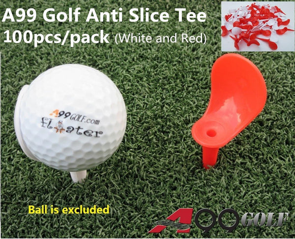 100 pcs x A99 Golf Anti-Slice Tee