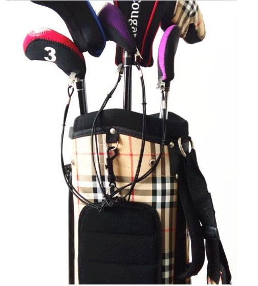 Stop Losing Golf Headcovers - A99 Golf Leash Strap 4 II with Bag Strap