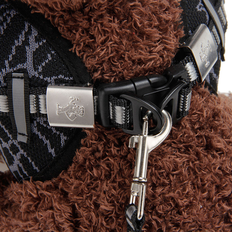 Adjustable Pet Control Harness Collar Safety Strap Vest + Strap Rope For Dog Puppy Cat