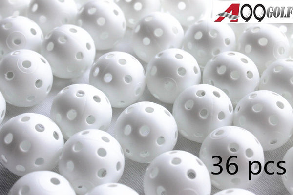 A99 Golf 36pcs Air Flow Balls White