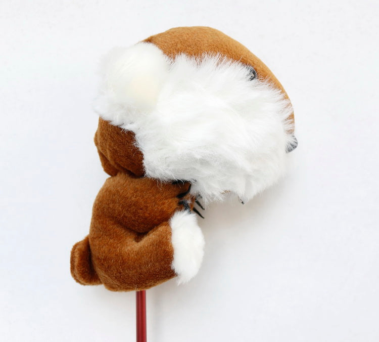 A99 Golf Animal Wht-brown Beaver Head Cover