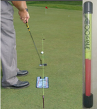 A99 Golf Putting String Guide Line Track with Pegs