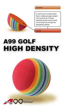 A99 Golf Rainbow  Foam Balls 50pcs Pratice Ball Floating Water Pool