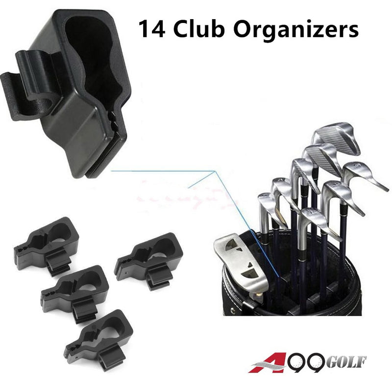A99 Golf 14 Club Holder Organize Your Irons Driver Putter Bag Durable
