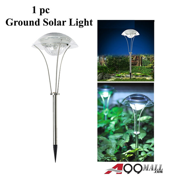 A99 DS-SSL Solar-Powered Stainless Steel Ground Light For Gardens