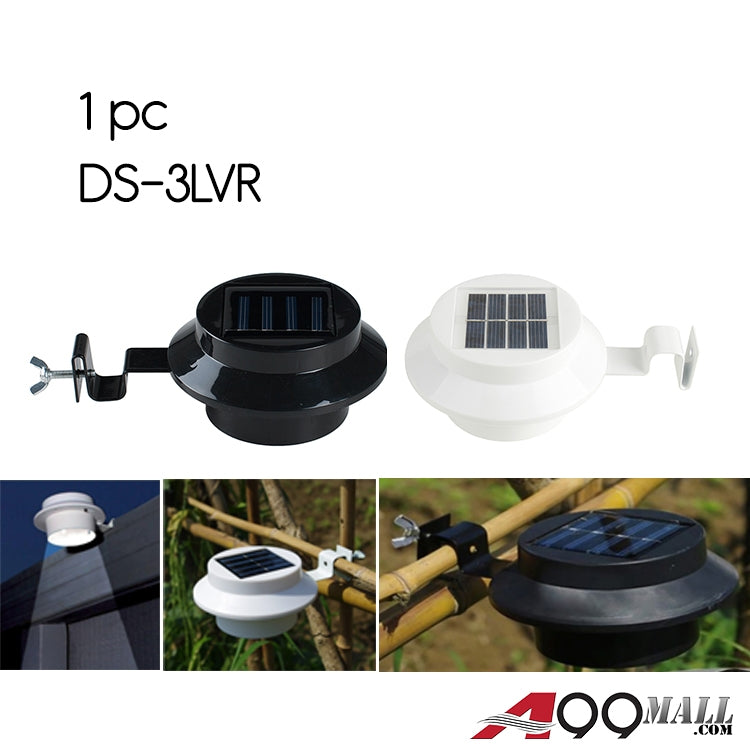 A99 DS-3LVR Solar-Powered Clip Sink Light Lamp White / Black