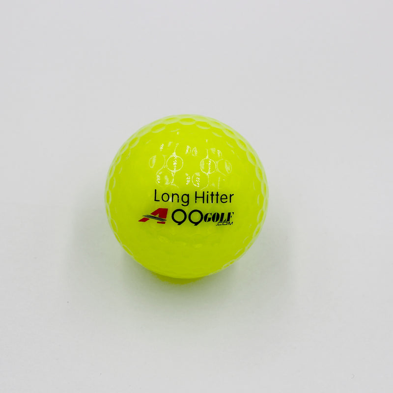 A99 Golf Neon Yellow Ball 3pcs/pk