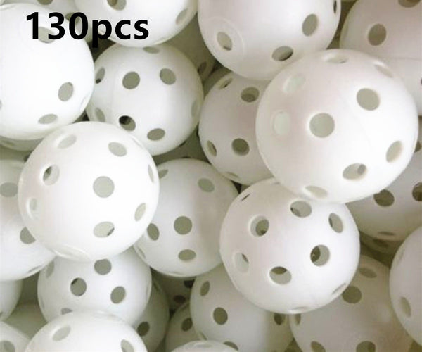 A99 Golf 130pcs Air Flow Balls White