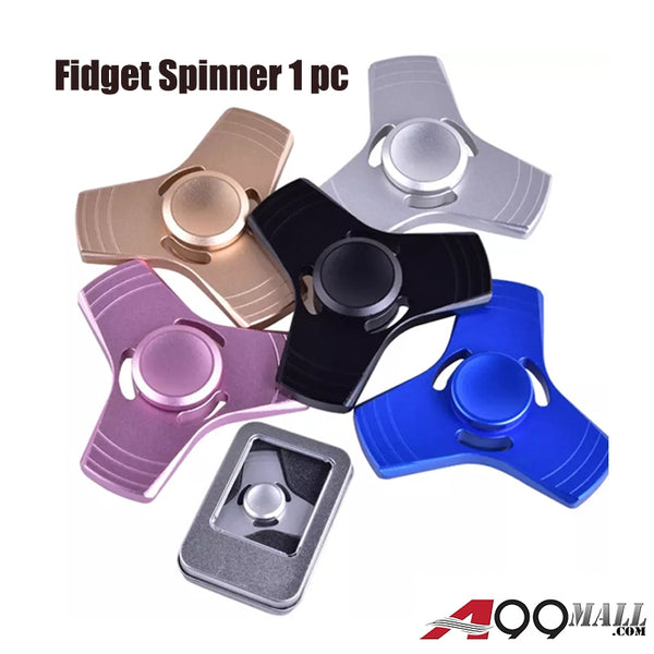 A99 Fidget Spinner Aluminum Tri-Arm Spinning Finger Gryo Toy