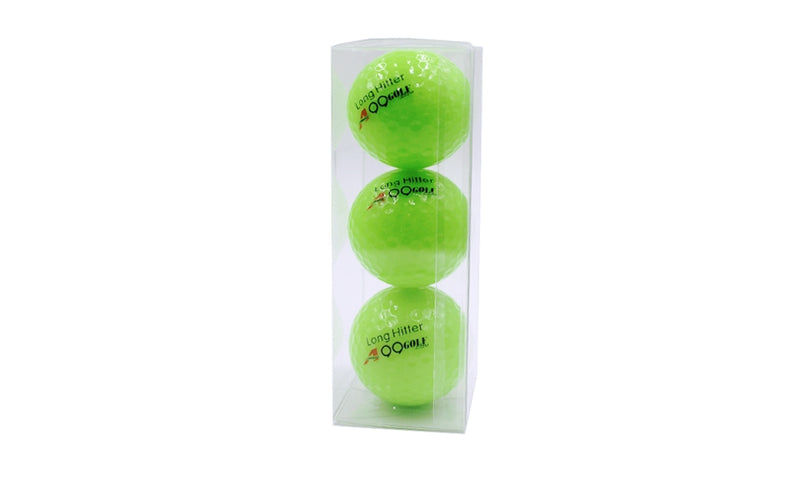 A99 Golf Neon Green Ball 3pcs/pk