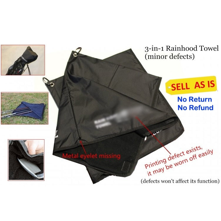 Rain Hood Towel Sell As Is 2pcs