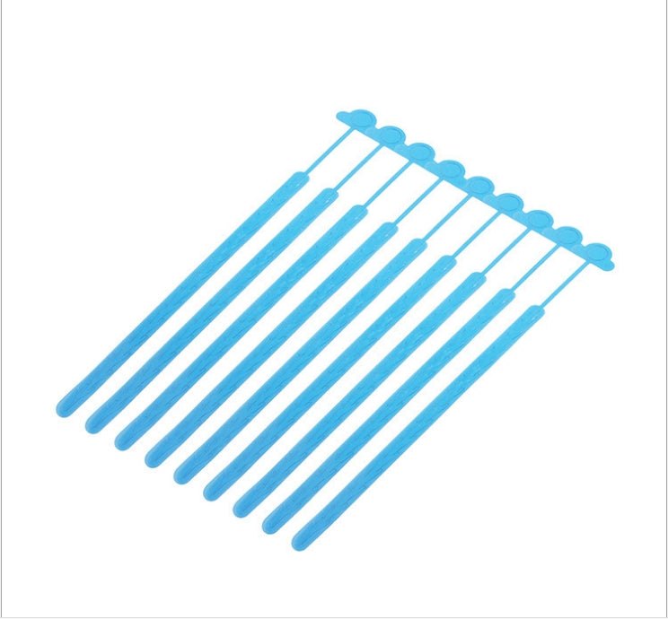 24pcs A99 Hygienic Disposable Sink Drain Hair Collector Catcher Remover  for Showers, Baths, Basins