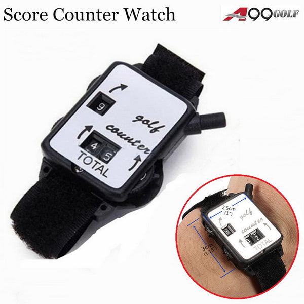 A99 Golf Score Keeper band Scoring Putt Shot Counter Bangle Watch 2pcs Sale as IS