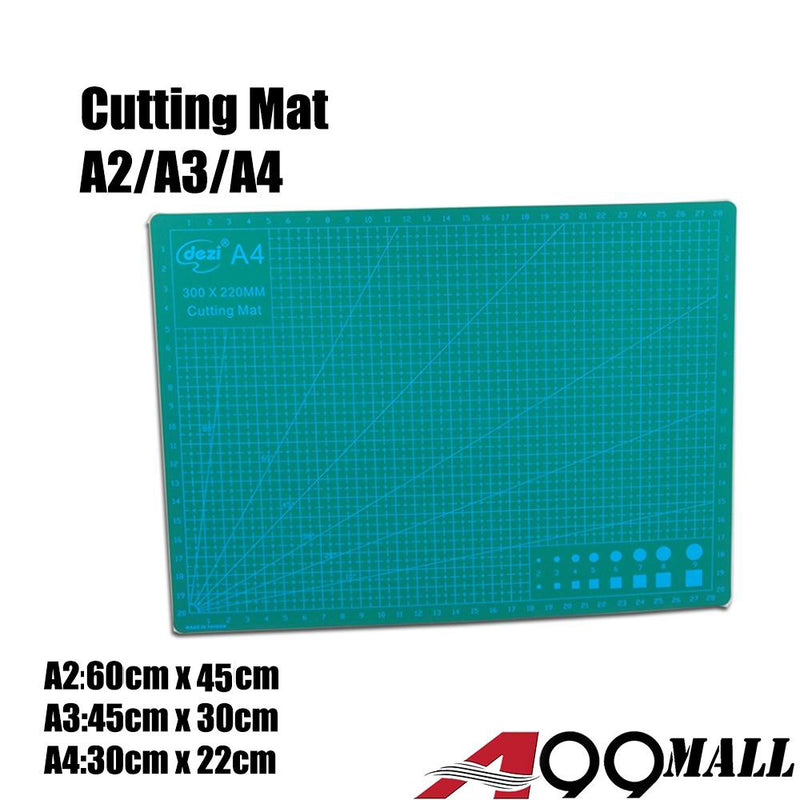A99 Cutting Mat A2 / A3 / A4 Board Healing 5-Ply Double Sided Durable Non-Slip PVC Cutting Mat Great for Scrapbooking, Quilting, Sewing and all Arts & Crafts Projects