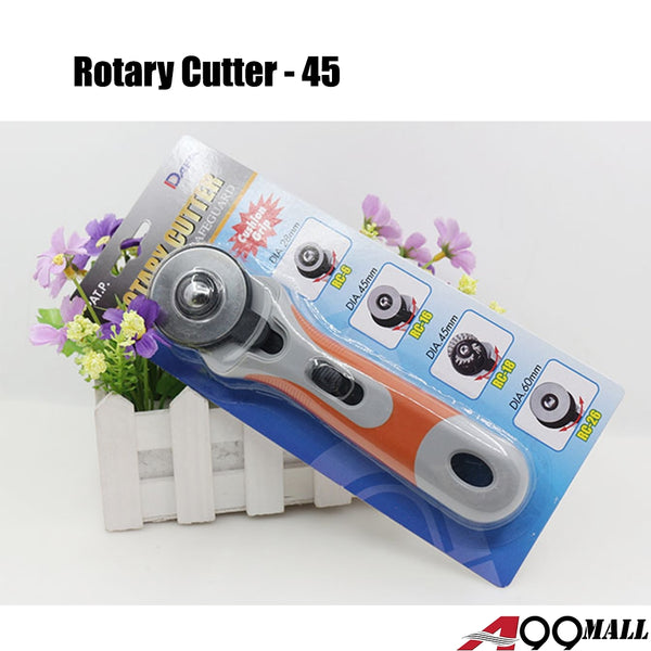 A99 Rotary Cutter 45mm Round Blade Knife Sewing Fabric Leather Craft Quilting Cutting Tool