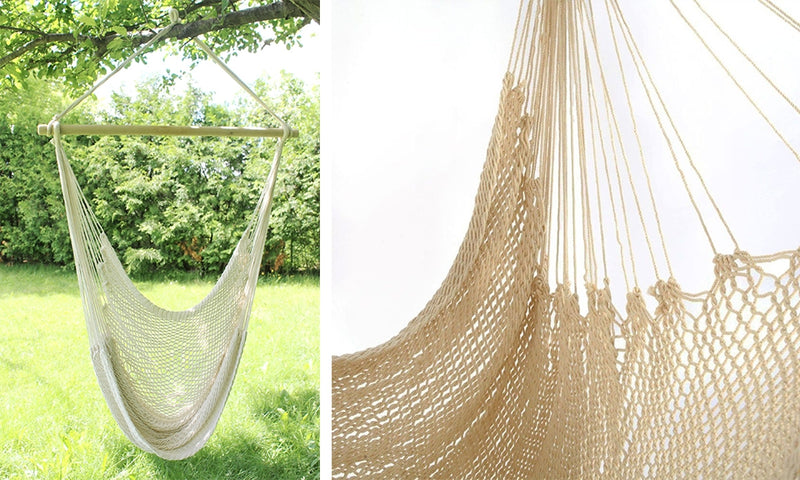 Hanging Swing Chairs Sitting Net For Backyards