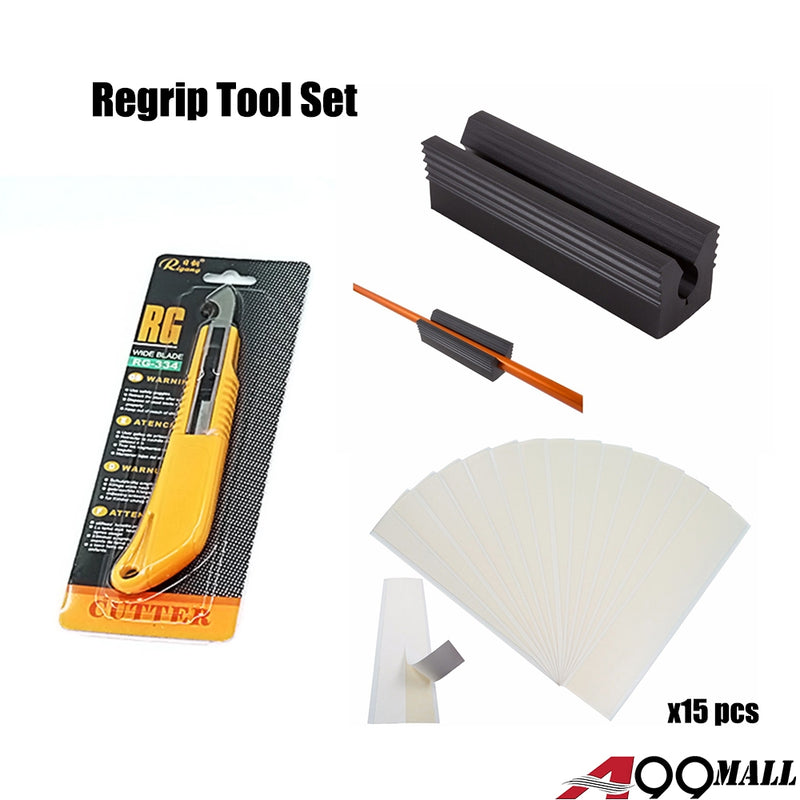 A99 Regrip Tool Set ( Knife + Tapes + Clamp )