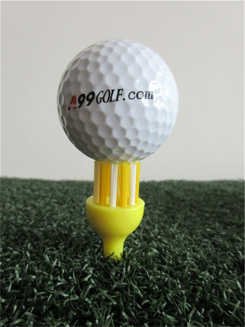A99 Golf Brush Tees II Extreme Tee Brush Driver Training Golfer Accessory Bristles 4pcs/pack