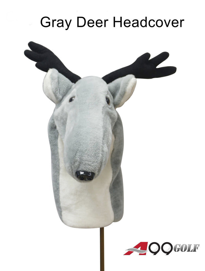 A99 Golf Animal Gray Deer Head Cover