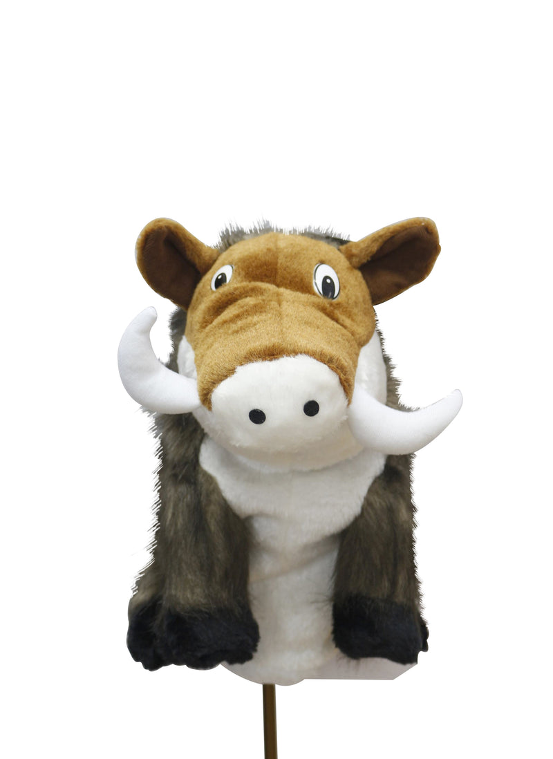 A99 Golf Cute Animal Boar Head Cover Wood Headcover Great Gift - Fits Driver