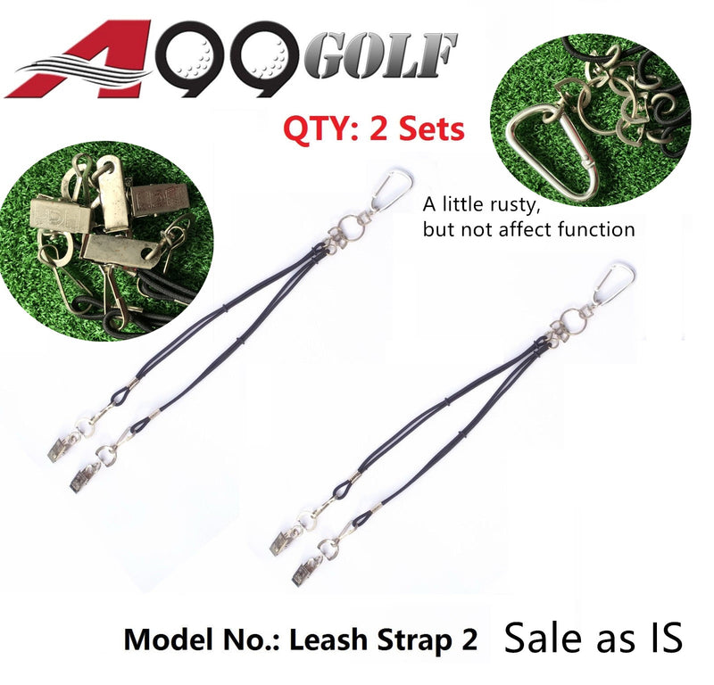 Stop Losing Golf Headcovers - A99 2 leash for Golf Head Cover With Bag Strap Sales as IS