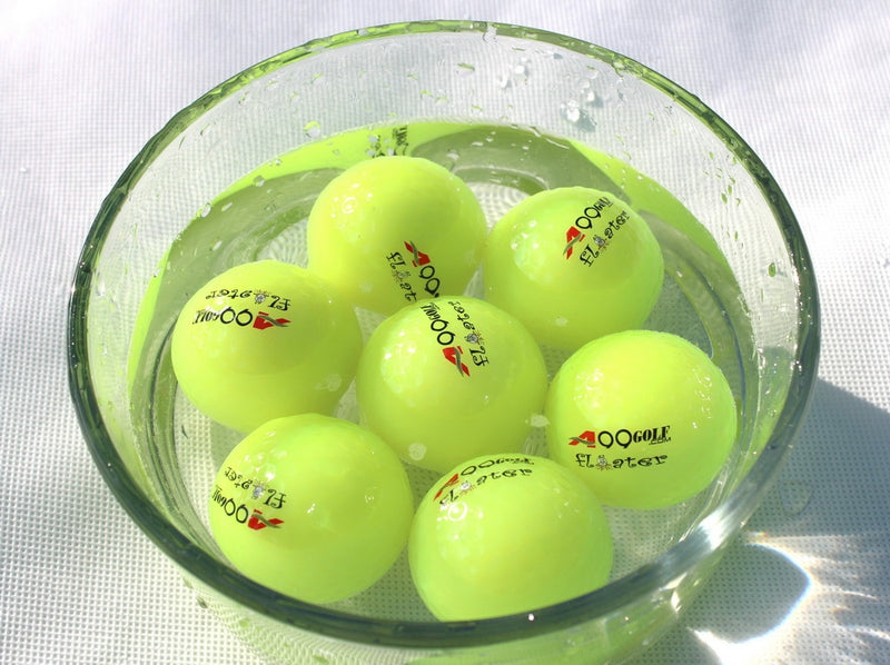 50pcs A99 Golf Floater Balls Neo Green