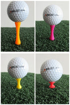 A99 Golf Step Tee III 100 pcs Mixed Color Mixed Size (4 Colors 4 Sizes)
