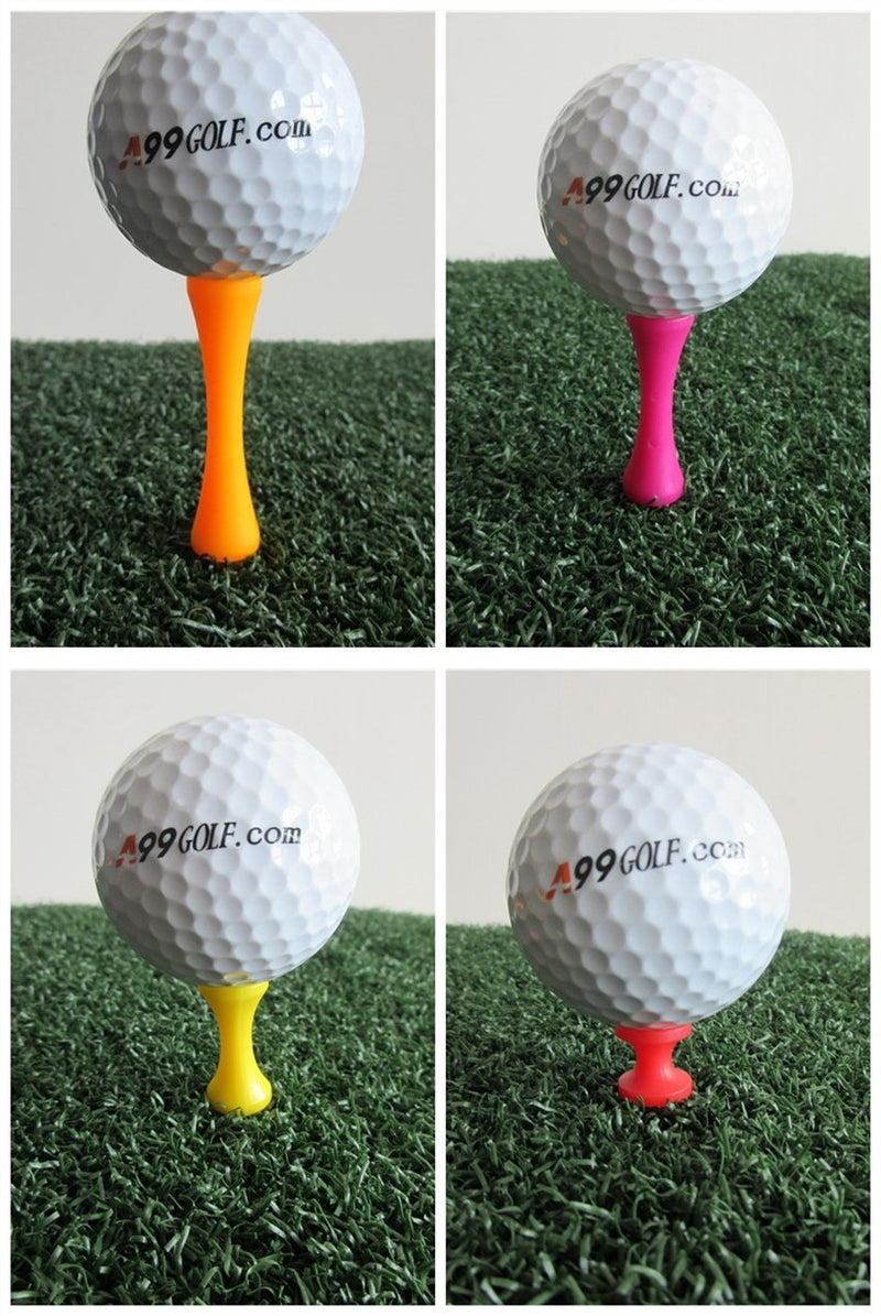 A99 Golf Step Tee III 200 pcs Mixed Color Mixed Size (4 Colors 4 Sizes)