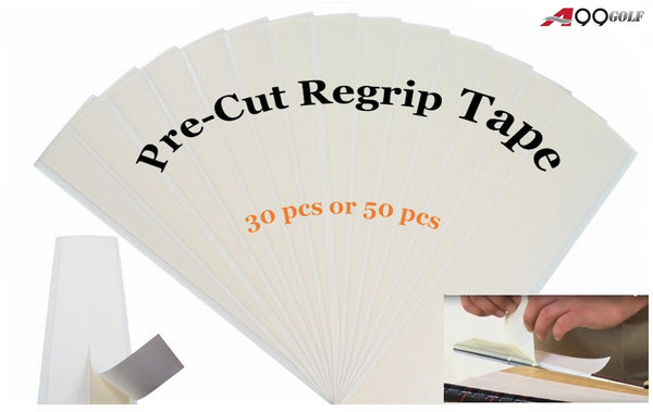 A99 Golf Pre-Cut Regrip Tape 30pcs/50pcs