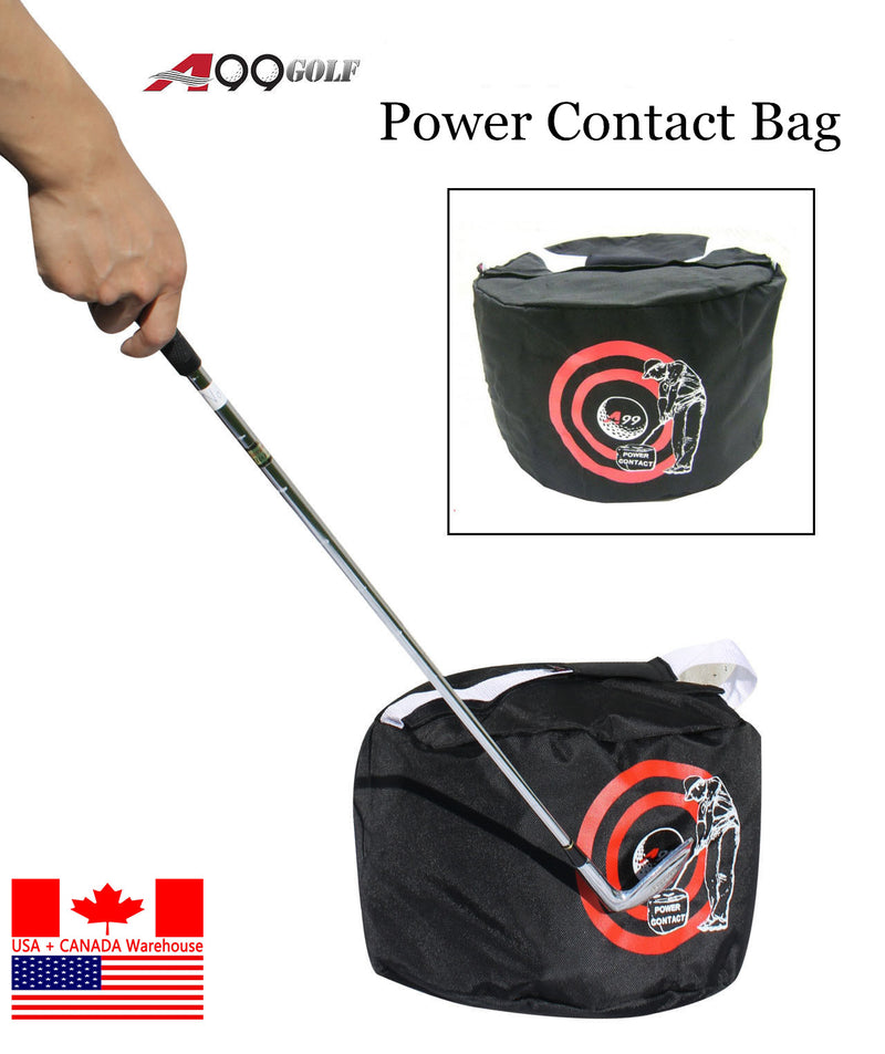 A99 Golf Power Impact Bag Black