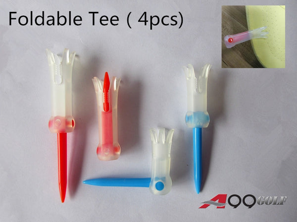 A99 Golf Foldable Tees 4pcs (2sizes)
