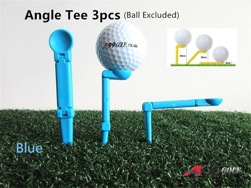 A99 Golf Angle Tee Blue 3pcs
